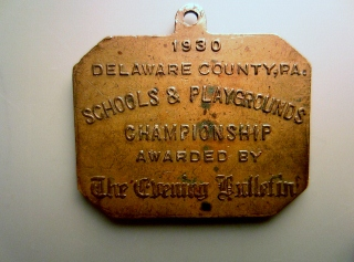 1930 tournament medal